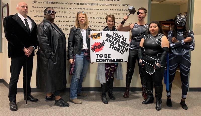 Halloween 2019 – Marvel Character Theme